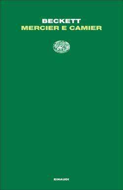 Copertina del libro Mercier e Camier di Samuel Beckett
