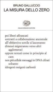 Copertina del libro La misura dello zero di Bruno Galluccio