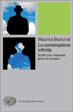 Copertina del libro La conversazione infinita di Maurice Blanchot
