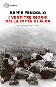 Copertina del libro I ventitre giorni della città di Alba di Beppe Fenoglio