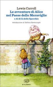 Copertina del libro Le avventure di Alice nel paese delle meraviglie di Lewis Carroll