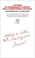 Copertina del libro Lettere di condannati a morte della Resistenza italiana di VV.