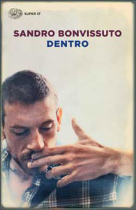 Copertina del libro Dentro di Sandro Bonvissuto
