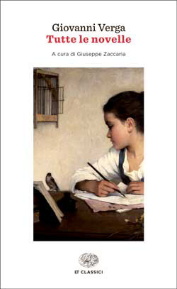 Copertina del libro Tutte le novelle di Giovanni Verga