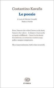 Copertina del libro Le poesie di Constantino Kavafis