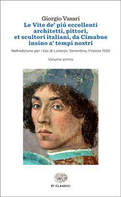 Copertina del libro Le Vite de' più eccellenti architetti, pittori, et scultori italiani, da Cimabue, insino a' tempi nostri di Giorgio Vasari