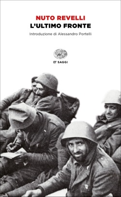 Copertina del libro L'ultimo fronte di Nuto Revelli