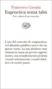 Copertina del libro Eugenetica senza tabú di Francesco Cassata