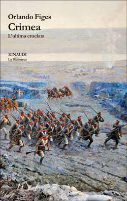Copertina del libro Crimea di Orlando Figes