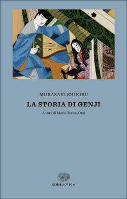 Copertina del libro La storia di Genji di Murasaki Shikibu