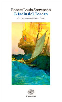 Copertina del libro L'Isola del Tesoro di Robert Louis Stevenson