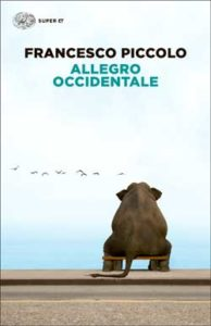 Copertina del libro Allegro occidentale di Francesco Piccolo