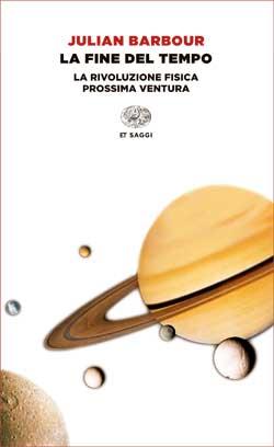 Copertina del libro La fine del tempo di Julian Barbour