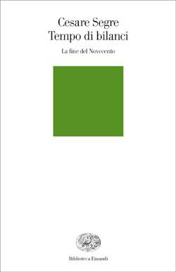 Copertina del libro Tempo di bilanci di Cesare Segre