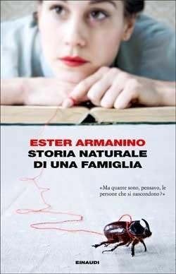 Copertina del libro Storia naturale di una famiglia di Ester Armanino