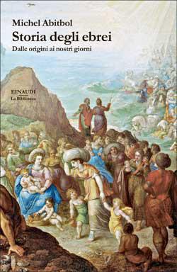 Copertina del libro Storia degli ebrei di Michel Abitbol