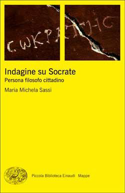 Copertina del libro Indagine su Socrate di Maria Michela Sassi