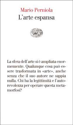 Copertina del libro L'arte espansa di Mario Perniola