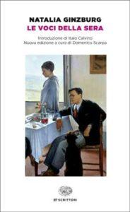 Copertina del libro Le voci della sera di Natalia Ginzburg