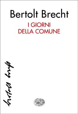 Copertina del libro I giorni della Comune di Bertolt Brecht