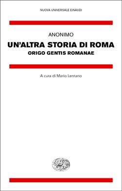 Copertina del libro Un'altra storia di Roma di Anonimo