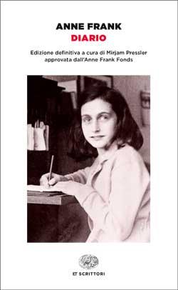 Copertina del libro Diario di Anne Frank