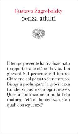Copertina del libro Senza adulti di Gustavo Zagrebelsky