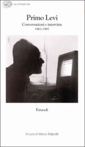Copertina del libro Conversazioni e interviste 1963-1987 di Primo Levi