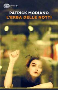 Copertina del libro L'erba delle notti di Patrick Modiano