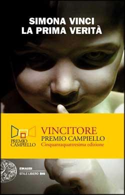 Copertina del libro La prima verità di Simona Vinci