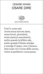 Copertina del libro Osare dire di Cesare Viviani