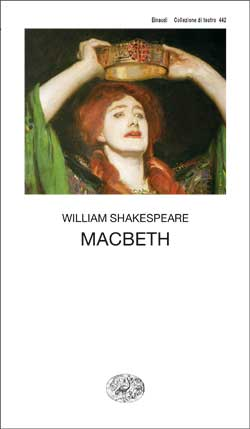 Copertina del libro Macbeth di William Shakespeare
