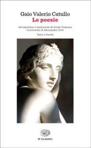 Copertina del libro Le poesie di Gaio Valerio Catullo