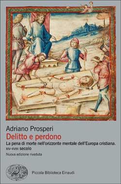 Copertina del libro Delitto e perdono di Adriano Prosperi