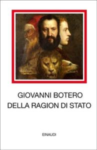 Copertina del libro Della ragion di Stato di Giovanni Botero
