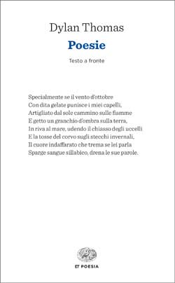 Copertina del libro Poesie di Dylan Thomas