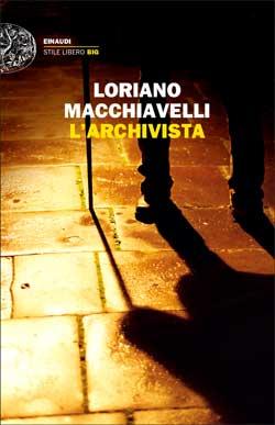 Copertina del libro L'archivista di Loriano Macchiavelli