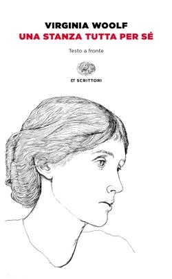 Copertina del libro Una stanza tutta per sé di Virginia Woolf