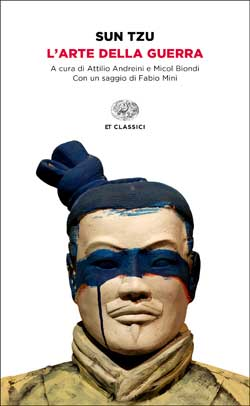 Copertina del libro L'arte della guerra di Sun Tzu