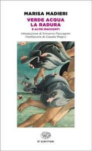 Copertina del libro Verde acqua. La radura di Marisa Madieri