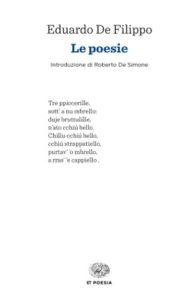 Copertina del libro Le poesie di Eduardo De Filippo