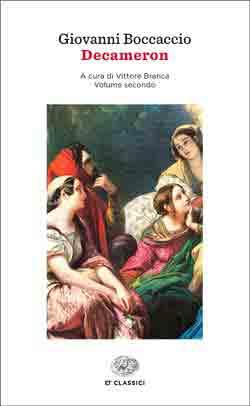 Copertina del libro Decameron di Giovanni Boccaccio