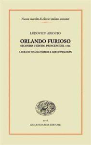 Copertina del libro Orlando furioso di Ludovico Ariosto