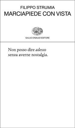 Copertina del libro Marciapiede con vista di Filippo Strumia