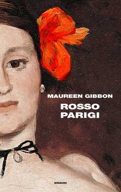 Copertina del libro Rosso Parigi di Maureen Gibbon