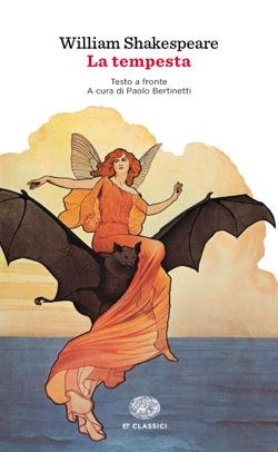 Copertina del libro La tempesta di William Shakespeare