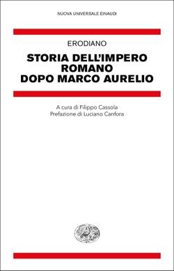 Copertina del libro Storia dell'impero romano dopo Marco Aurelio di Erodiano