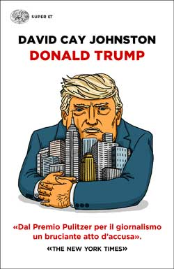 Copertina del libro Donald Trump di David Cay Johnston