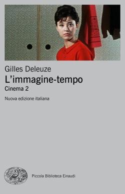 Copertina del libro L'immagine-tempo di Gilles Deleuze