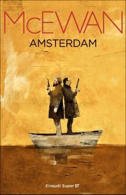 Copertina del libro Amsterdam di Ian McEwan